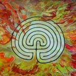 Classic Labyrinth Flames